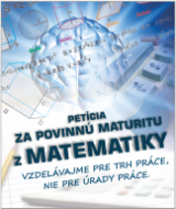 Petícia za obnovu povinnej maturity z matematiky