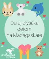 Plyšáky pre Madagaskar
